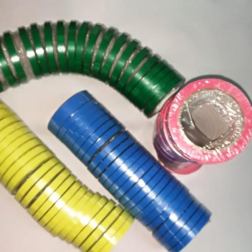 ROLLO PVC  PRECINTO CIERRABOLSAS 66mtsX12mm 24R/PAQ 6PAQ/CAJ