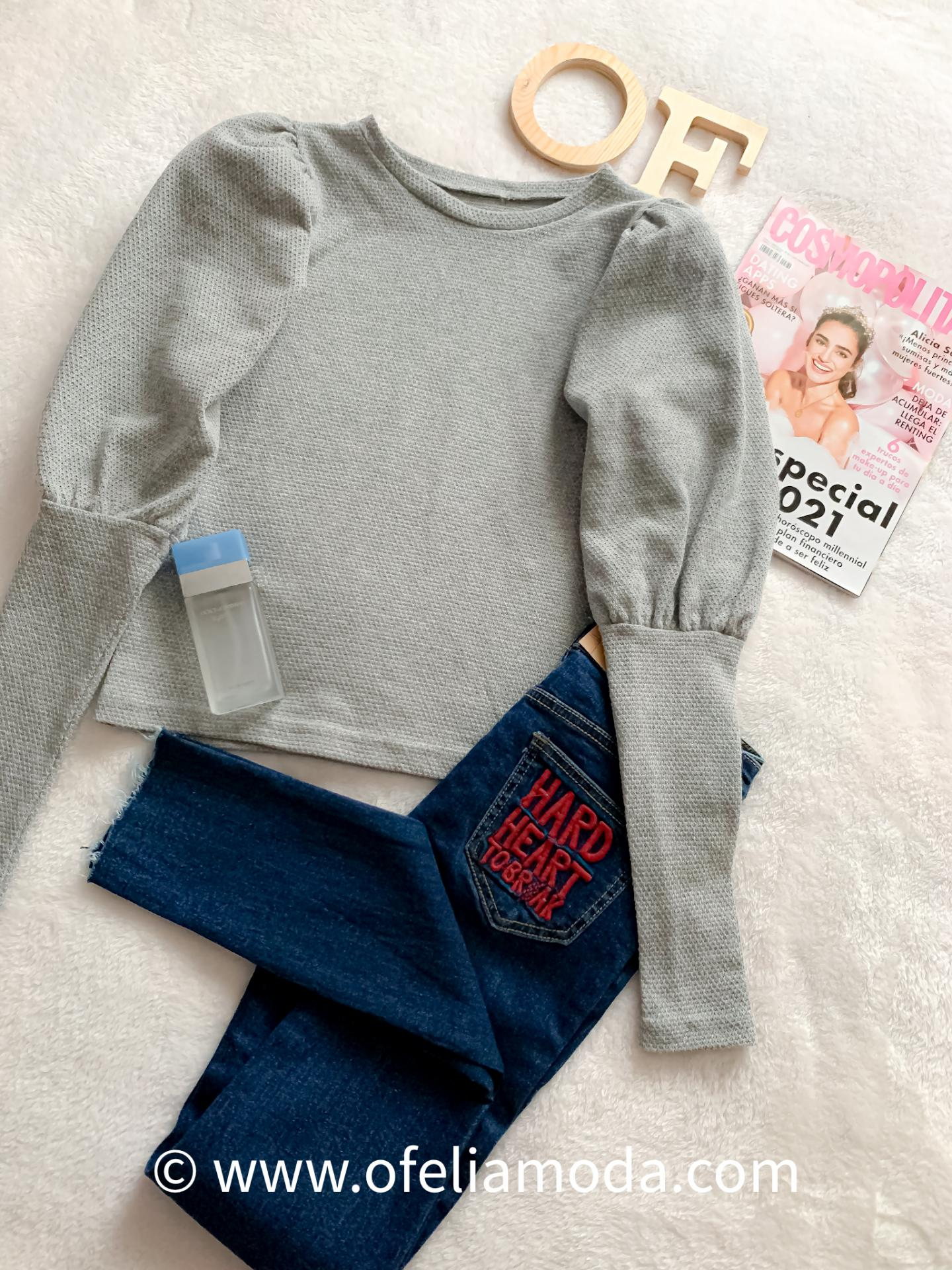 Jeans Skinny High Wast
