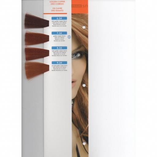 Tinte Hair Smart N 6.34 Rubio Oscuro Oro Cobrizo  [1]