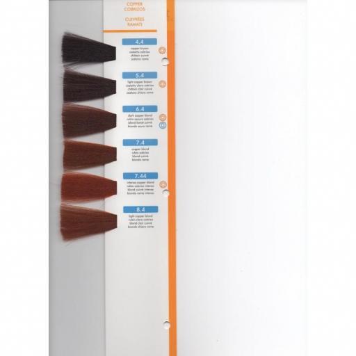Tinte Hair Smart N 7.44 Rubio Cobrizo Intenso  [1]