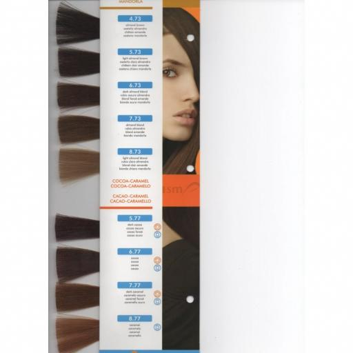 Tinte Hair Smart N 4.73 Castaño Almendra [1]