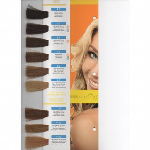 Tinte Hair Smart N 4.3 Castaño Dorado [1]