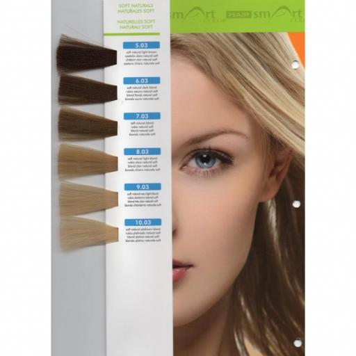 Tinte Hair Smart N 8.03 Rubio Claro Natural Soft  [1]