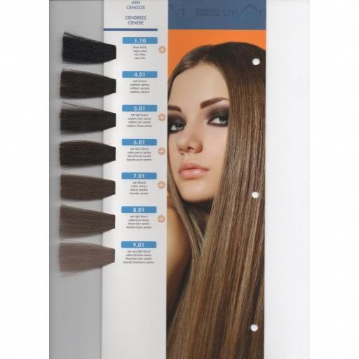 Tinte Hair Smart N 7.01 Rubio Ceniza [1]