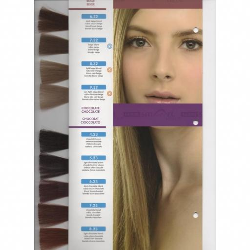 Tinte Hair Smart N 8.23 Rubio Claro Chocolate  [1]