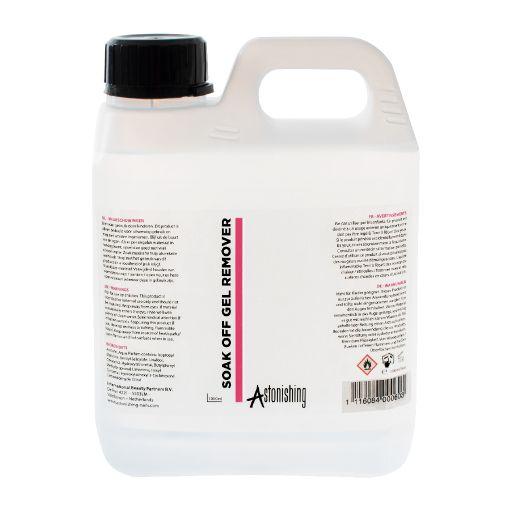 Soak Off Gel Remover 1000 ml Astonishing
