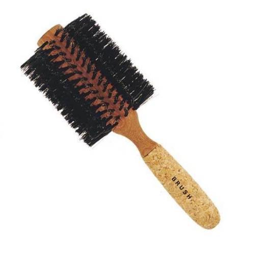 Cepillo Redondo Brush 670 Mango Corcho Grande