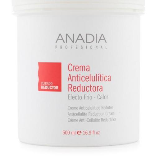 Crema Anadia Anticelulítica Reductora Frio-Calor 500 ml