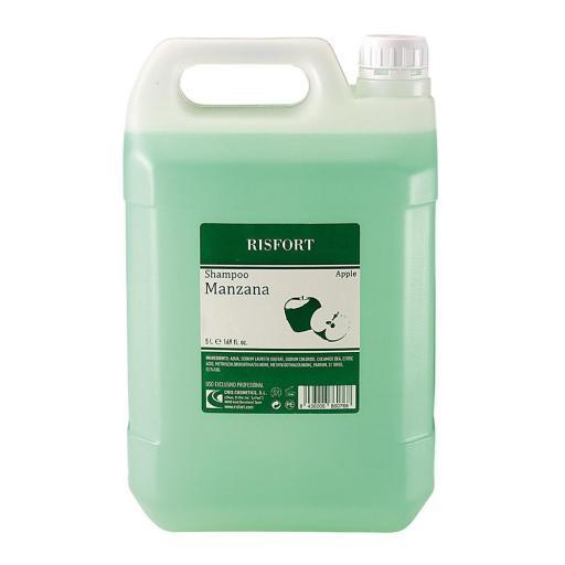 Champú Risfort Profesional Manzana  5000 ml