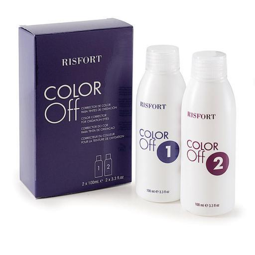 Color Off - Corrector del Color Risfort  ( 2 x 100 ml )
