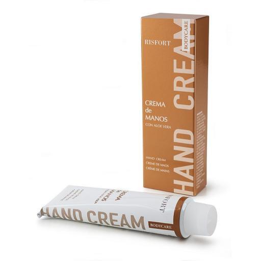 Crema de Manos y Cuerpo Risfort  Aloe Vera  60 gr