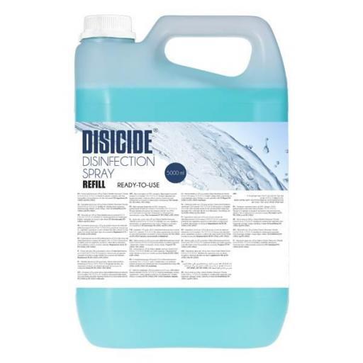 Desinfectante liquido DISICIDE Spray 5000 ml