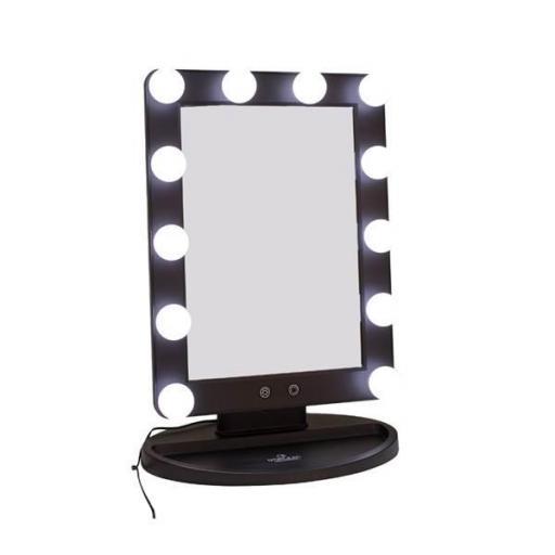 Espejo  de Tocador Dorleac con Luz Negro