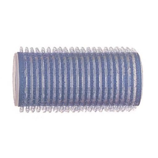 Rulo Velcro Standard 27 Ø Azul - 12 uds