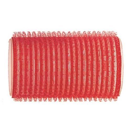 Rulo Velcro Standard 34 Ø Rojo - 12 uds