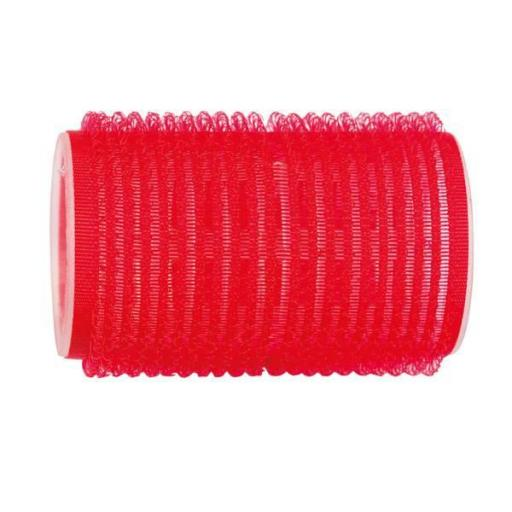 Rulo Velcro Standard 38 Ø Rojo - 12 uds