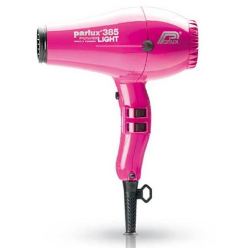 Secador Parlux 385 Light Fucsia