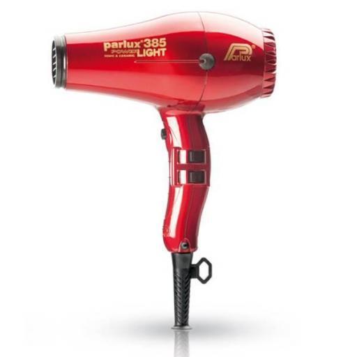 Secador Parlux 385 Light Rojo