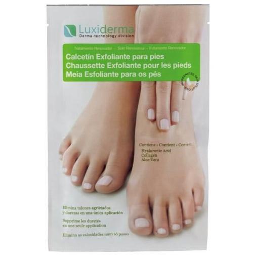 Luxiderma - Calcetín Exfoliante para Pies ( 1 par )
