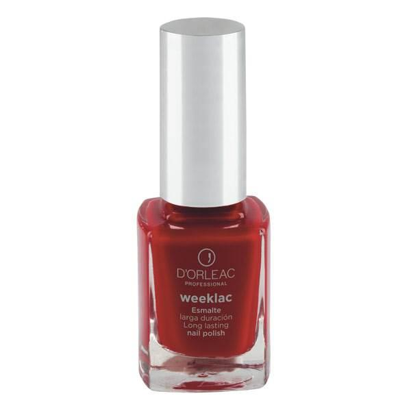 Esmalte WEEKLAC Nº5 Rojo