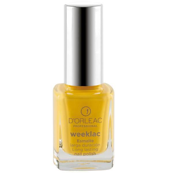 Esmalte WEEKLAC Nº9 Amarillo
