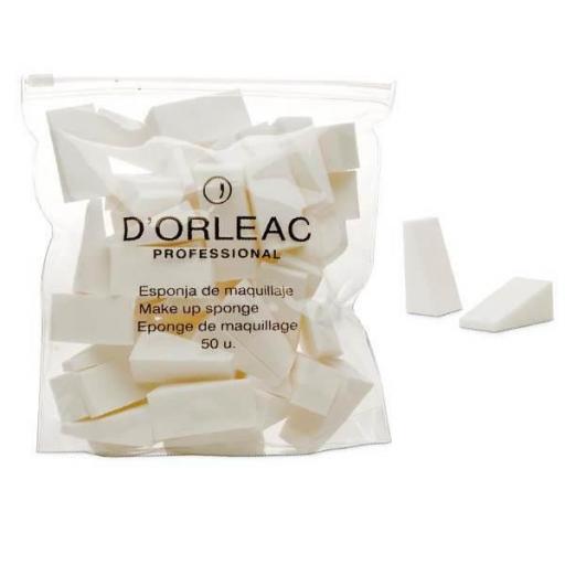 Esponja maquillaje Dorleac - Bolsa 50 uds