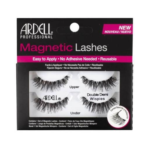 Ardell Pestañas Magneticas Dobles Demi Wispies [0]