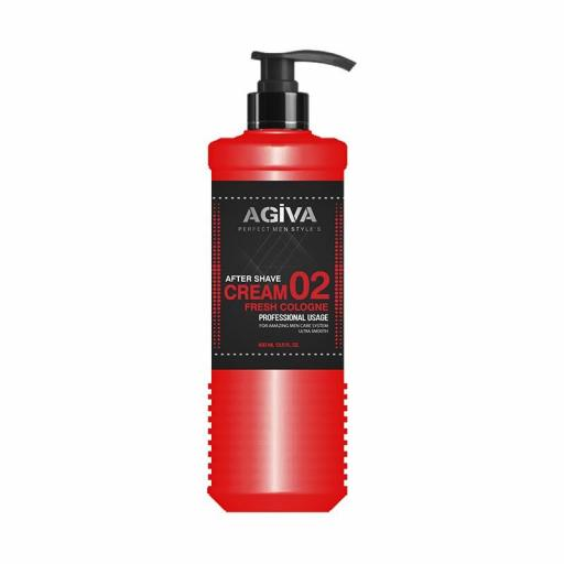Agiva After Shave Cream 400 Ml Fresh
