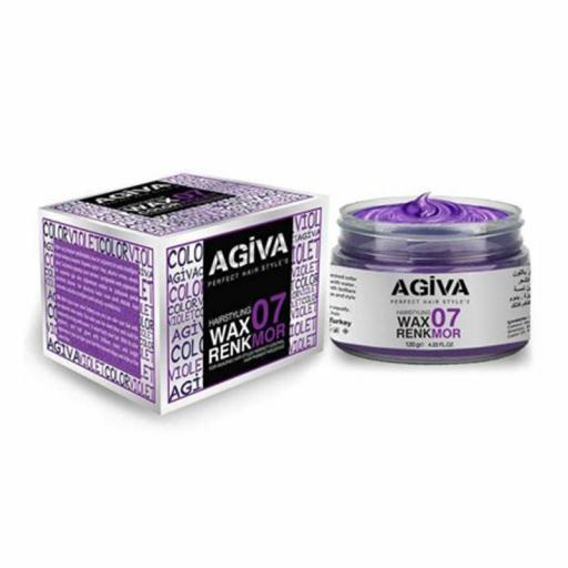 Agiva Hairpigment Wax 07 Color Violet 120g