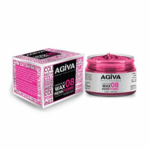 Agiva Hairpigment Wax 08 Color Pink 120g