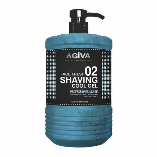 Agiva Shaving Gel Afeitado 1000 Ml Cool