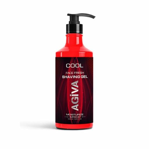 Agiva Shaving Gel Afeitado 500 Ml Cool