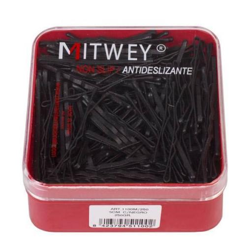 Clips Mitwey Antideslizante Negro - 260 gr