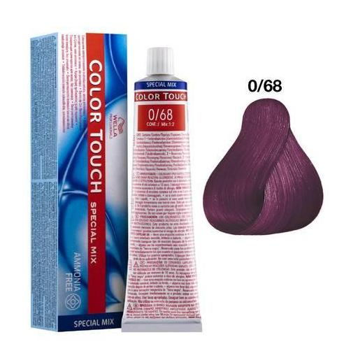 Tinte Color Touch Wella nº 0/68 60 ml