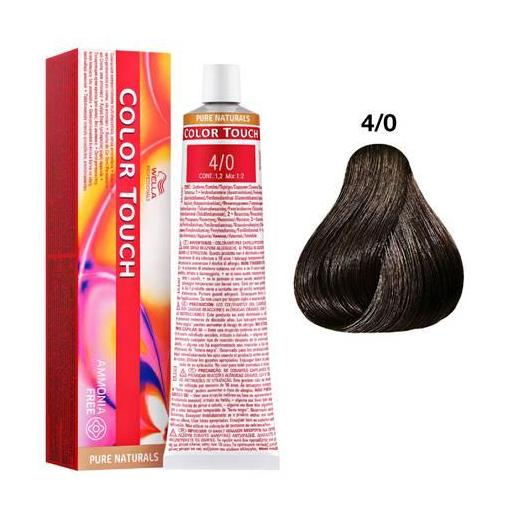 Tinte Color Touch Wella nº 4/0  60 ml