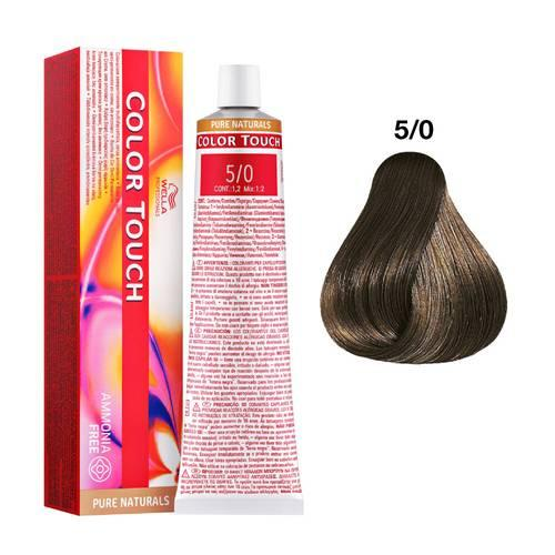 Tinte Color Touch Wella nº 5/0  60 ml