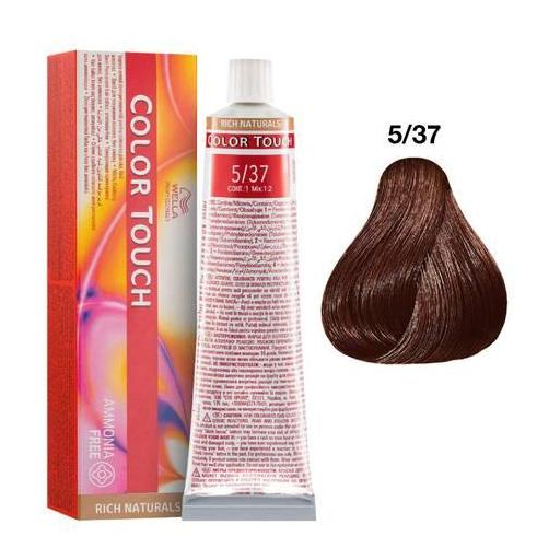 Tinte Color Touch Wella nº 5/37  60 ml