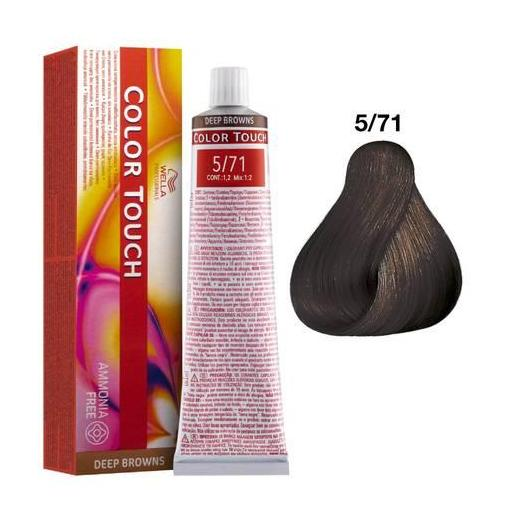 Tinte Color Touch Wella nº 5/71  60 ml