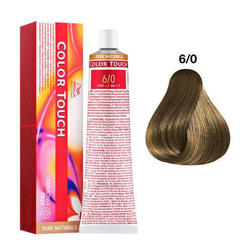 Tinte Color Touch Wella nº 6/0  60 ml