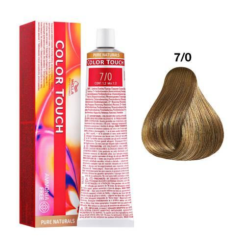 Tinte Color Touch Wella nº 7/0  60 ml