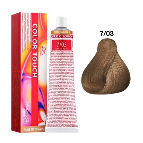 Tinte Color Touch Wella nº 7/03  60 ml