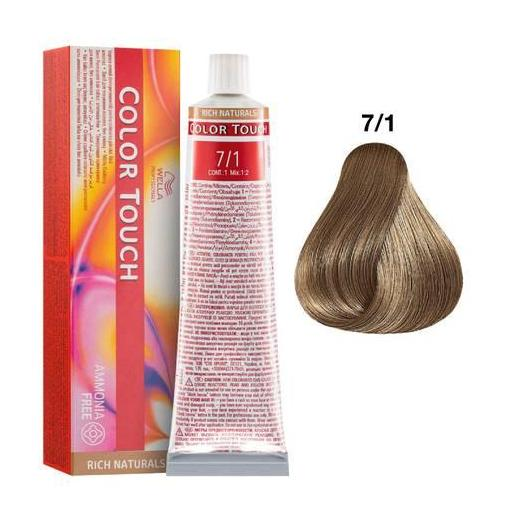 Tinte Color Touch Wella nº 7/1  60 ml