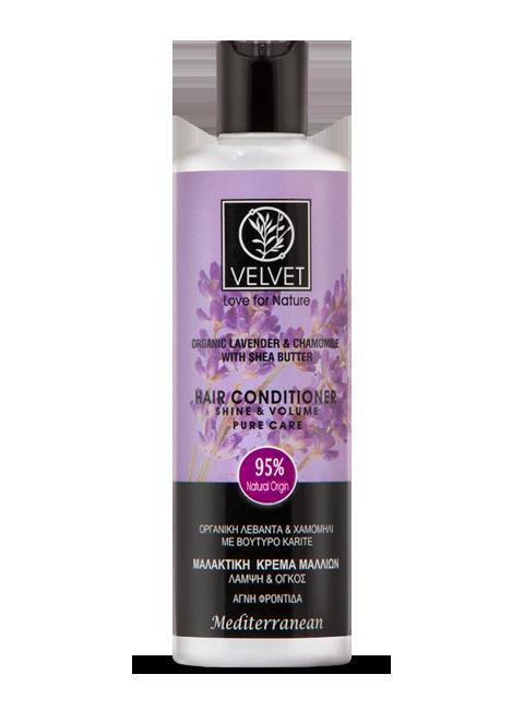 Acondicionador  Velvet de Lavanda, Manzanilla y Karité 250 ml