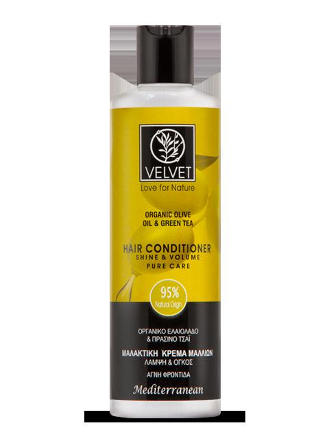 Acondicionador Velvet de aceite de oliva y té verde  250 ml