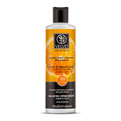 Acondicionador Velvet de Naranja, Amaranto y Argán 250 ml