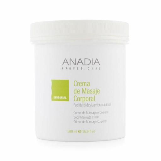 Crema Anadia Masaje Corporal 500 ml