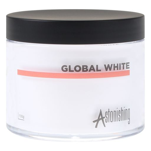 Polvos Acrylic Global White 100 gr Astonishing