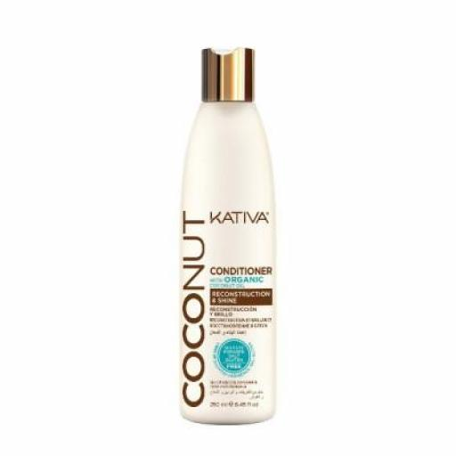 Acondicionador Kativa Coconut 250 ml