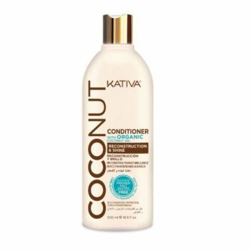 Acondicionador Kativa Coconut 500 ml [0]