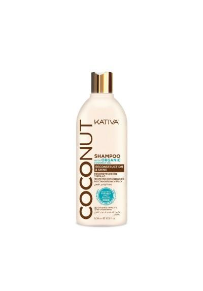 Champú Kativa Coconut 500 ml